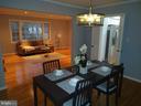 Dinning room - 2409 MISTLETOE PL, ADELPHI