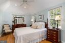 Primary Bedroom suite with high ceilings - 3502 HALCYON DR, ALEXANDRIA