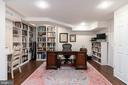 Lower level rec room, office or guest suite - 3502 HALCYON DR, ALEXANDRIA