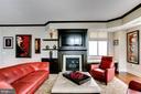 Living Room - 11990 MARKET ST #1803, RESTON