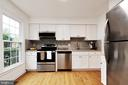 Kitchen - New stainless-steel appliances - 6304 TEAKWOOD CT, BURKE