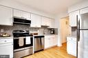 Kitchen - New back splash - 6304 TEAKWOOD CT, BURKE