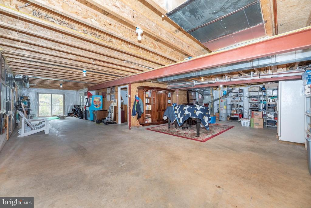 Lots of room & light in this walk-out lower level! - 2513 MILL RACE RD, FREDERICK