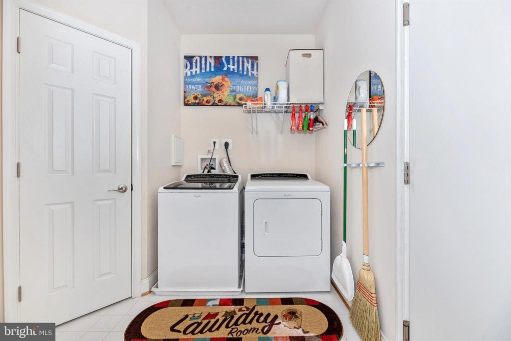 Laundry Room and Walk-in Pantry Closet - 2513 MILL RACE RD, FREDERICK