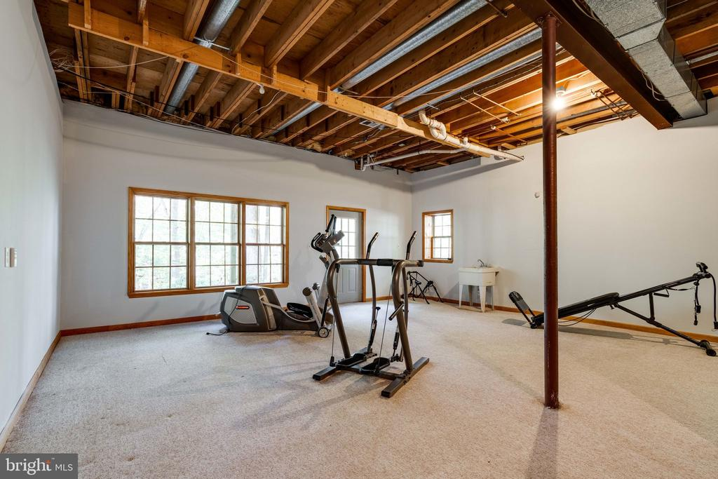 Gym/Exercise room - 10118 HAMPTON WOODS DR, FAIRFAX STATION