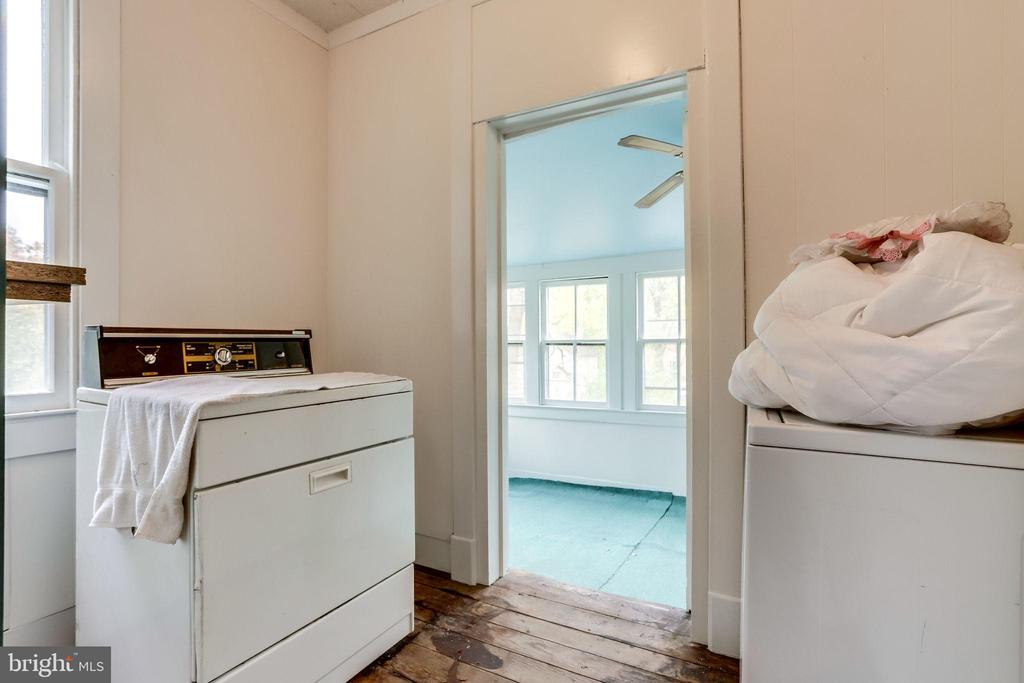 Separate laundry area is located on second floor - 210 N KING ST, LEESBURG