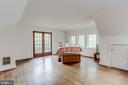 Large bedroom area - 210 N KING ST, LEESBURG