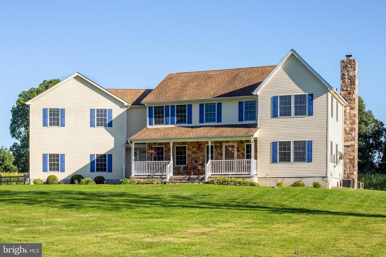 Single Family Homes för Försäljning vid Pittstown, New Jersey 08867 Förenta staterna