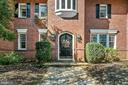 Arched front door of Manor House - 40568 HIDDEN HILLS LN, PAEONIAN SPRINGS