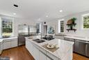 Modern kitchen - 40568 HIDDEN HILLS LN, PAEONIAN SPRINGS