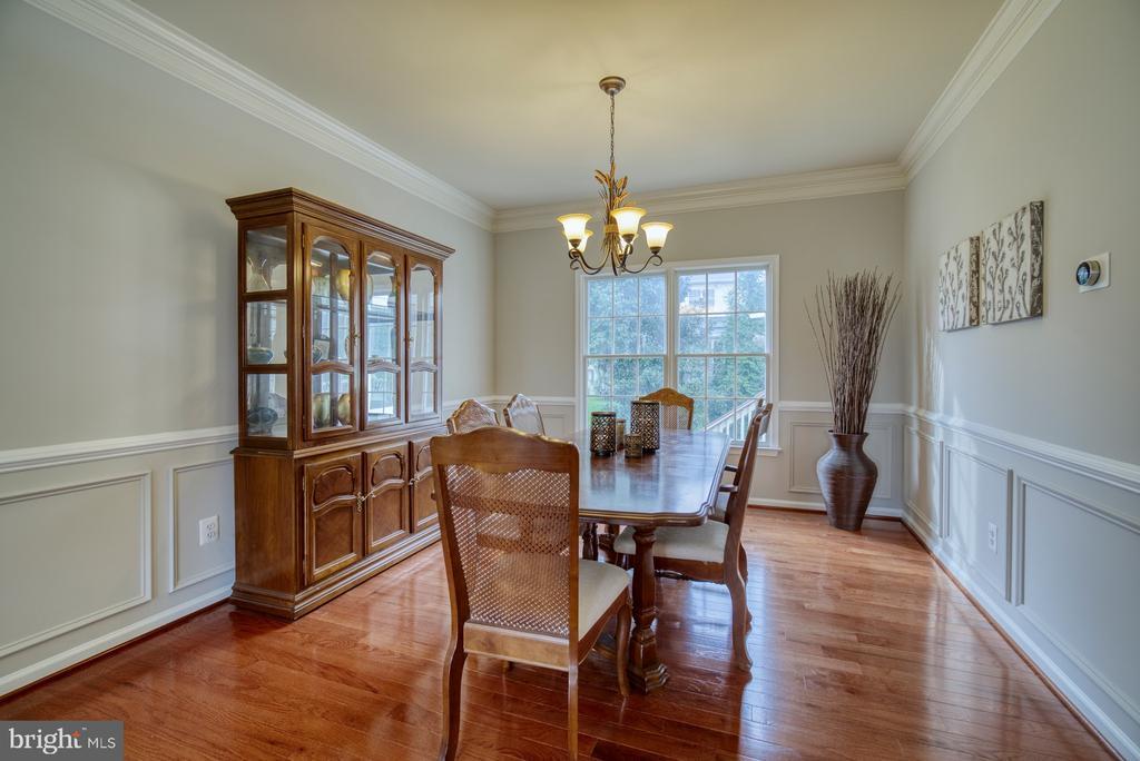 Dining Room - 10868 GROVEHAMPTON CT, RESTON
