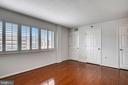 Double closets in primary bedroom - 1301 N COURTHOUSE #1607, ARLINGTON
