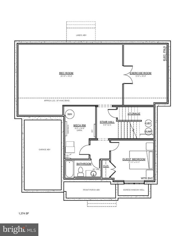 Proposed floorplan- customize today! - 1608 N CLEVELAND ST, ARLINGTON