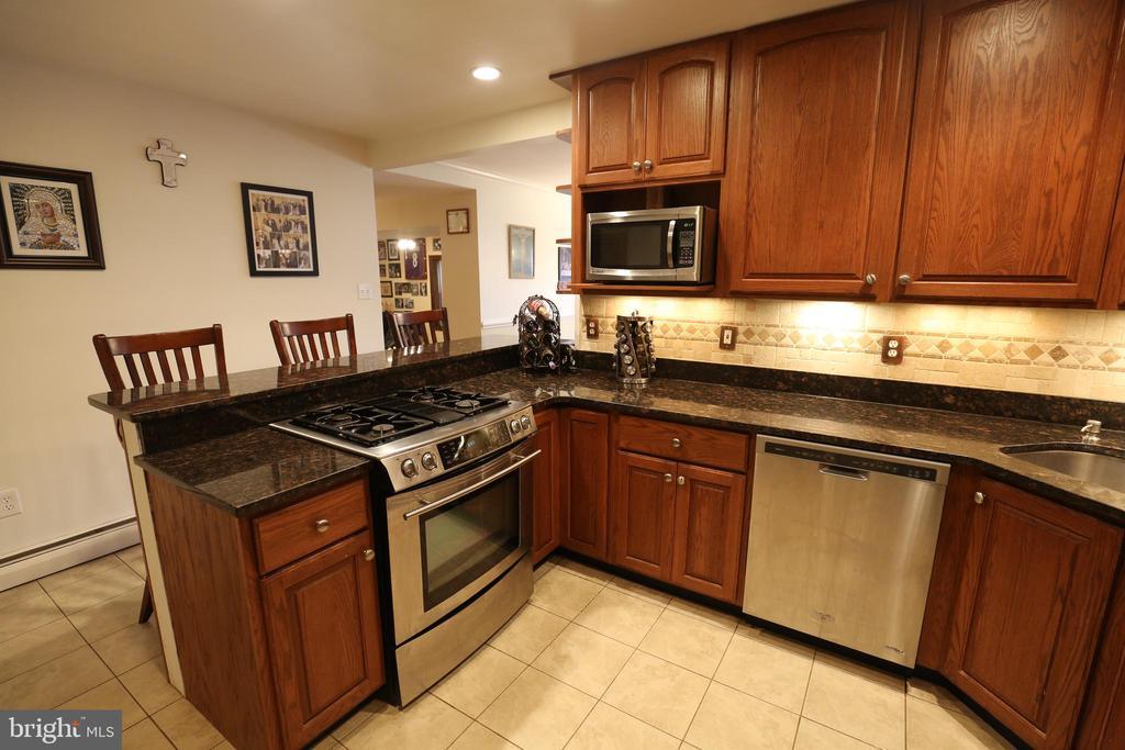 Beautifully Remodeled Kitchen - 7707 DUBLIN DR, MANASSAS