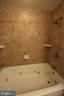 Primary Bath Spacious Jetted Tub; Ceramic Surround - 7707 DUBLIN DR, MANASSAS