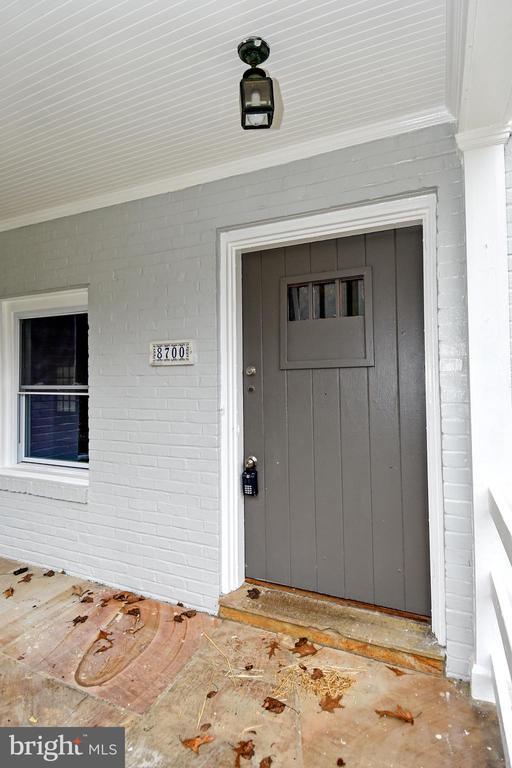 Front Door - 8700 ARLINGTON BLVD, FAIRFAX