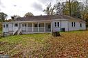 Back yard/Porch - 8700 ARLINGTON BLVD, FAIRFAX