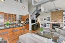 Open Concept Living Area - 1615 N QUEEN ST #M601, ARLINGTON