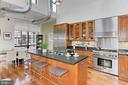 Gourmet Kitchen with Work Island - 1615 N QUEEN ST #M601, ARLINGTON