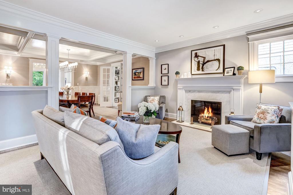 Formal Living Room - 3307 MACOMB ST NW, WASHINGTON