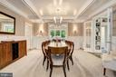 Coffered Ceilings & Classic Millwork - 3307 MACOMB ST NW, WASHINGTON