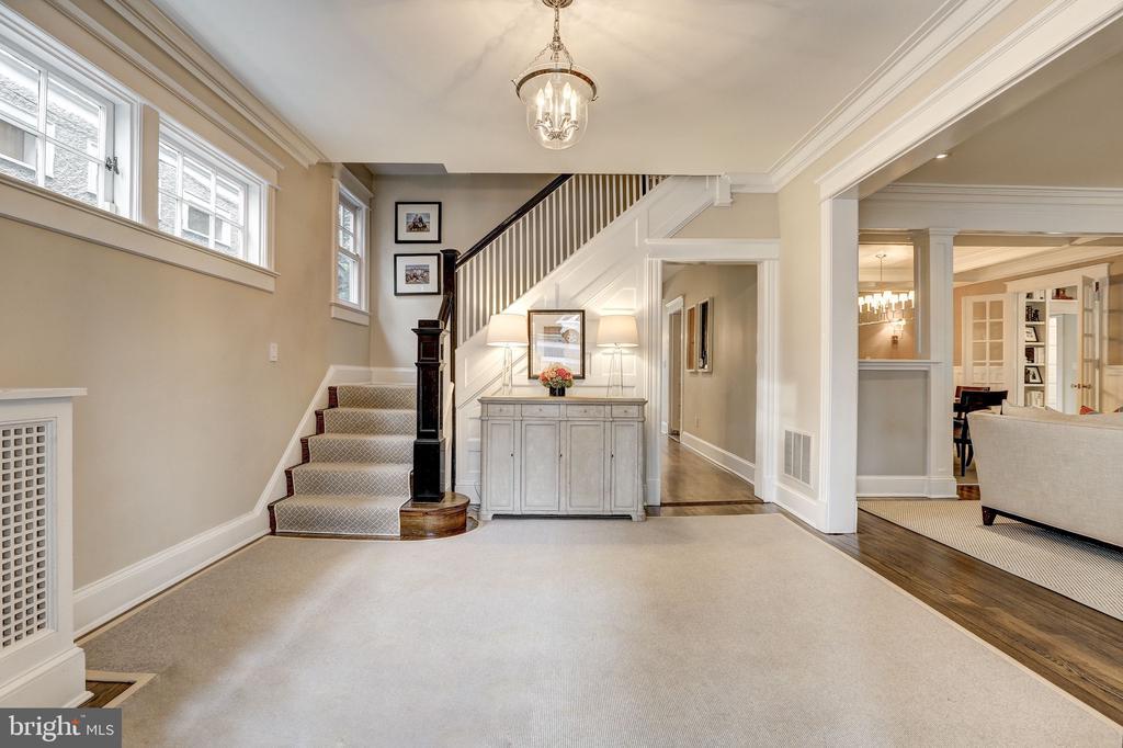 Grand Foyer Invites You Home - 3307 MACOMB ST NW, WASHINGTON