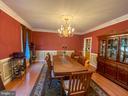 Formal Dining Room - 10810 PENINSULA CT, MANASSAS
