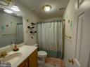 Full Bathroom in Basement - 10810 PENINSULA CT, MANASSAS