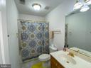Bathroom upstairs - 10810 PENINSULA CT, MANASSAS