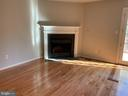 Woodburning fireplace - 3727 ROXBURY LN, ALEXANDRIA