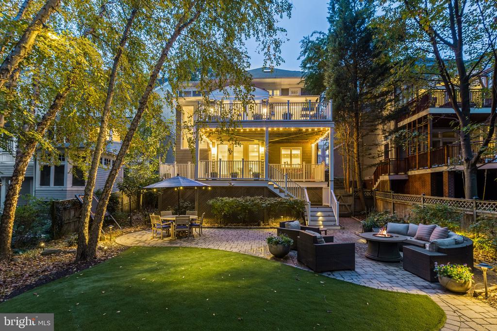 Ultimate Outdoor Entertaining & Relaxing Space - 3307 MACOMB ST NW, WASHINGTON