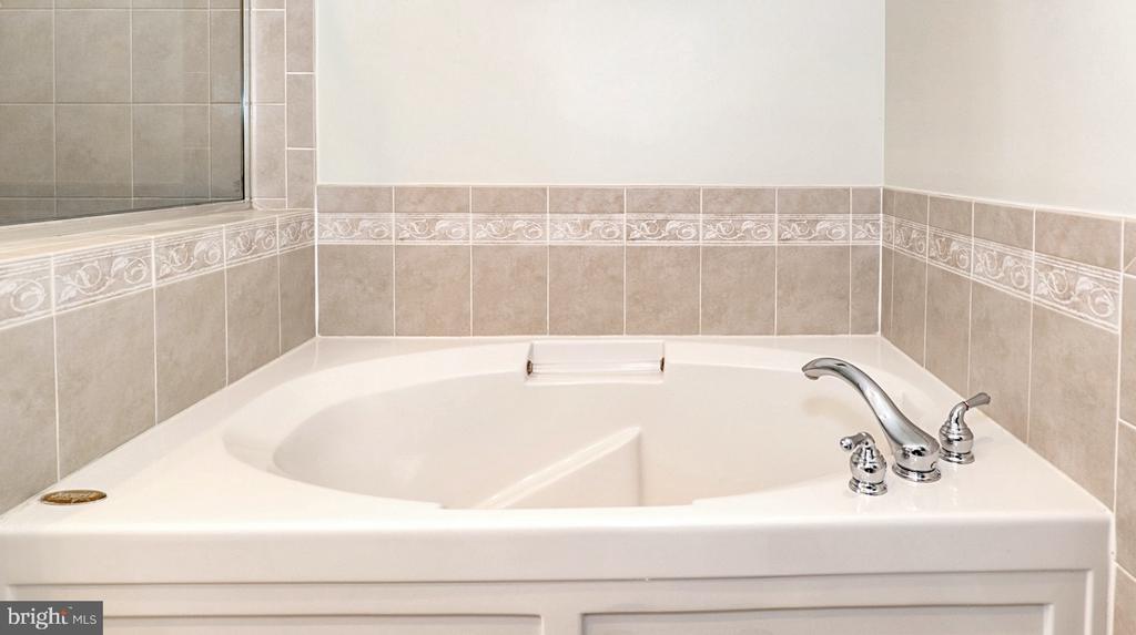 Primary bath soaking tub w separate shower - 1322 N DANVILLE ST, ARLINGTON