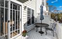 Deck off of kitchen - 1322 N DANVILLE ST, ARLINGTON