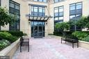 MAIN ENTRANCE INTO THE BUILDING - 1830 FOUNTAIN DR #308, RESTON