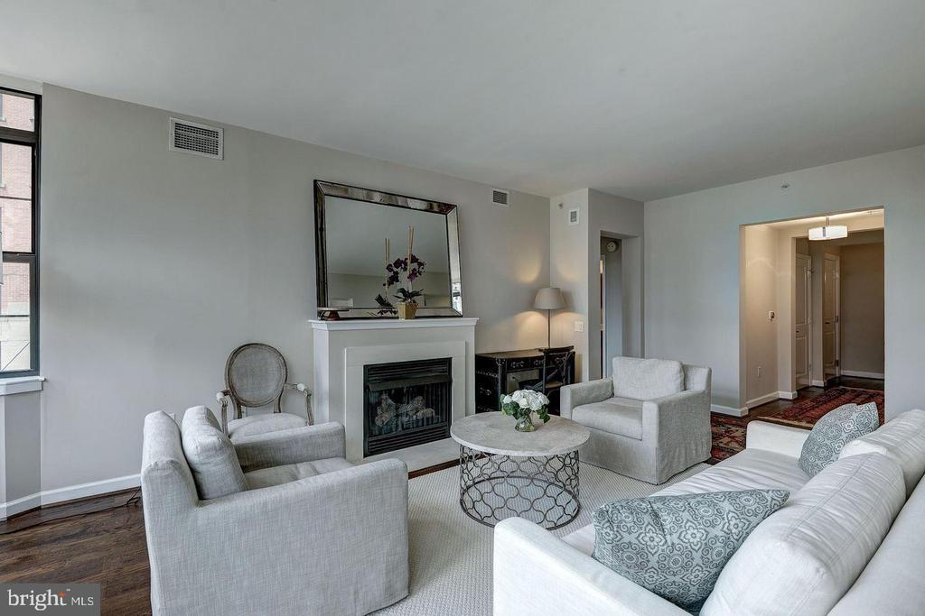 ENJOY YOUR FIREPLACE ON THOSE COLD WINTER  NIGHTS! - 1830 FOUNTAIN DR #308, RESTON