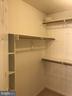 Walk in closet in Master Bedroom - 1118 SUGAR MAPLE LN, HERNDON