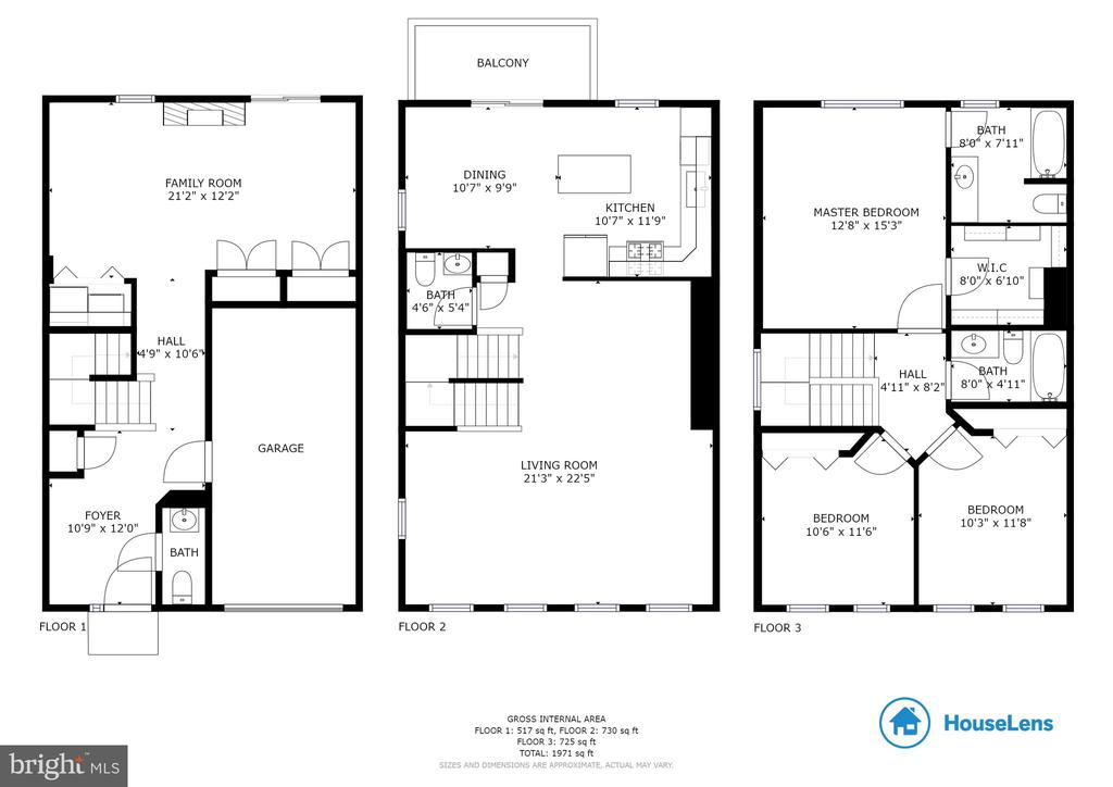 Full House Floor Plan - 8235 IRONCLAD CT, GAITHERSBURG