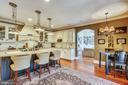 Gourmet Kitchen with Cherry Floors - 4808 WHISKEY CT, IJAMSVILLE