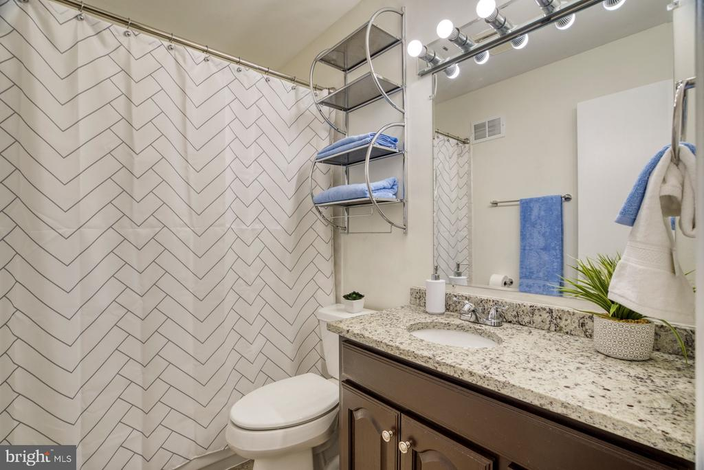 The hall bath is updated as well. - 6348 DRACO ST, BURKE