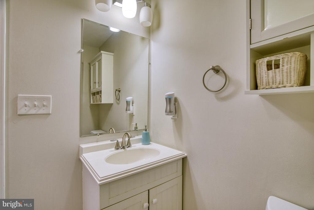 Full bath in the basement as well! - 6348 DRACO ST, BURKE