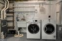Laundry room with additional storage closet - 5630 KIRKHAM CT, SPRINGFIELD