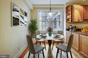 Dining Area - Virtually Staged - 3900 CONNECTICUT AVE NW #105-F, WASHINGTON