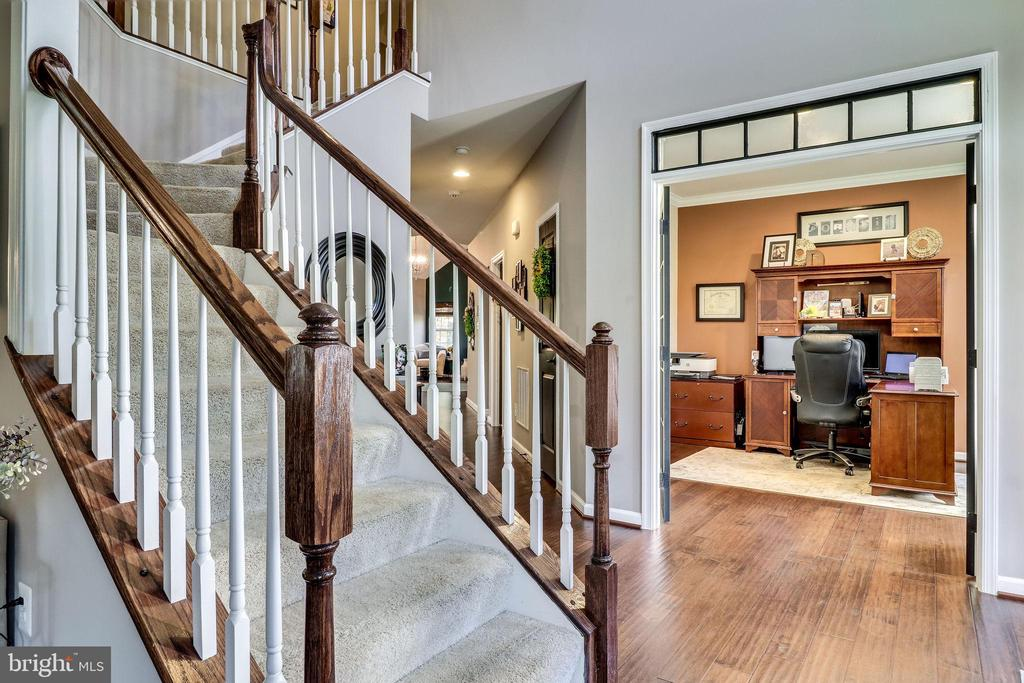 Office View from the Formal Living Room - 12801 CLASSIC SPRINGS DR, MANASSAS