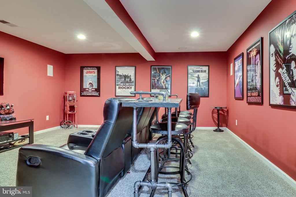 Media Room for your Next Party - 12801 CLASSIC SPRINGS DR, MANASSAS