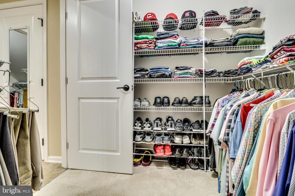 2 of 2 Primary Bedroom Walk In Closet - 12801 CLASSIC SPRINGS DR, MANASSAS