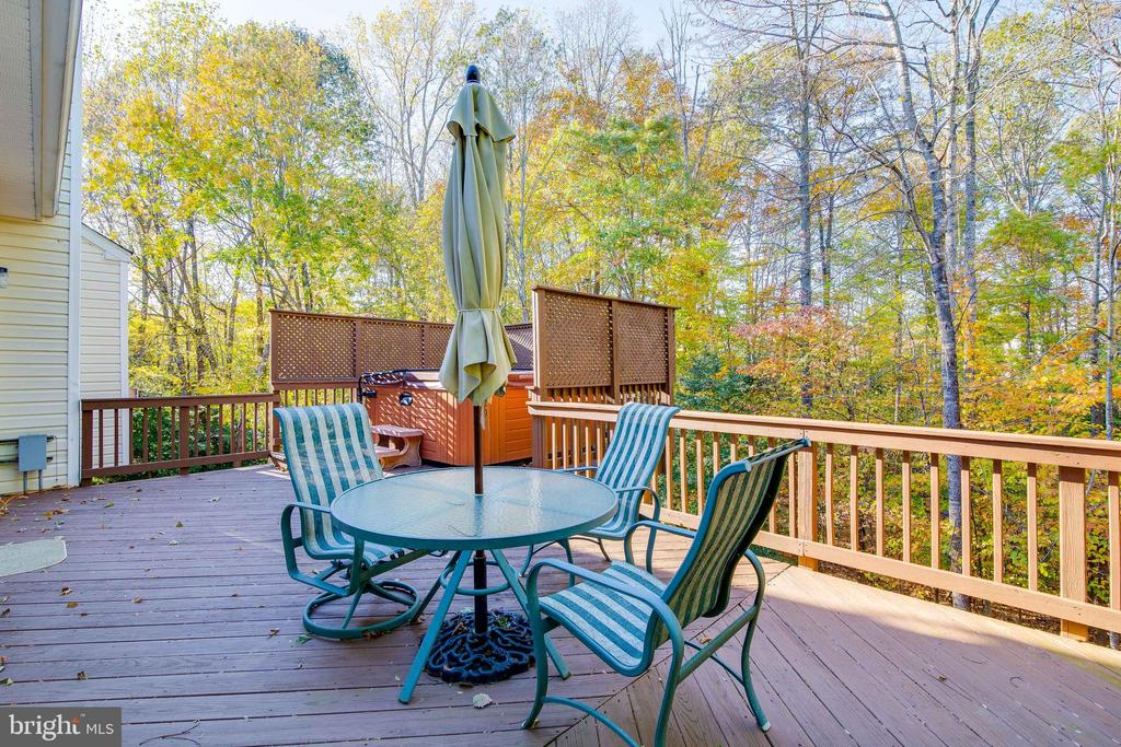 Deck - 15304 EGGLESTETTON CT, MANASSAS
