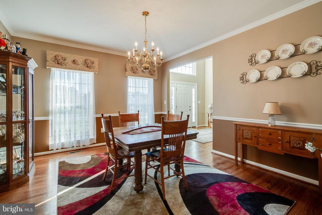 Formal Dining Room - 15304 EGGLESTETTON CT, MANASSAS