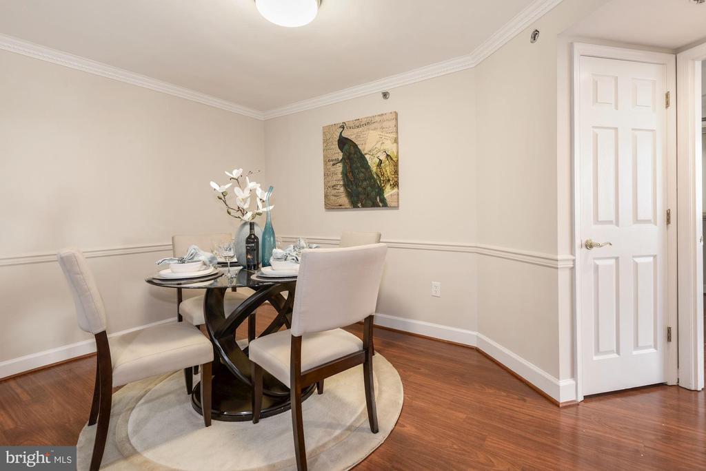 Dining Room looking toward Laundry and Main BR - 1276 N WAYNE ST #807, ARLINGTON