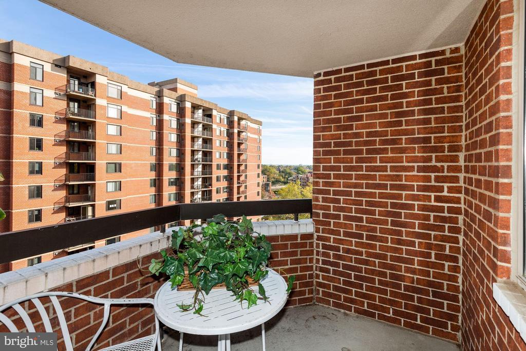 Private Main Bedroom Suite Balcony - 1276 N WAYNE ST #807, ARLINGTON