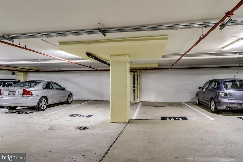 33 Two convenient parking spaces near elevator - 309 HOLLAND LN #115, ALEXANDRIA